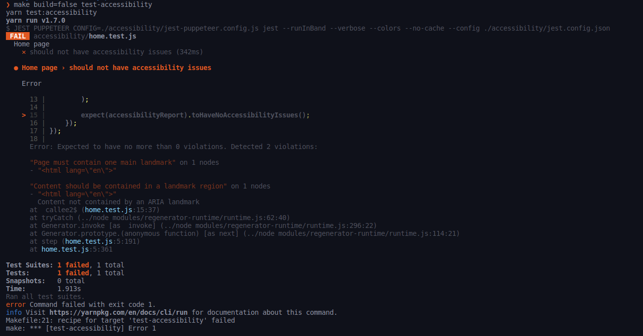 Automating Accessibility and Performance Testing with