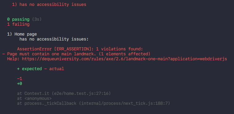 Automating accessibility testing with Selenium Webdriver and