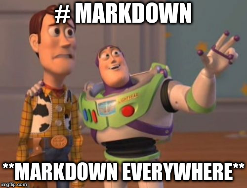 Markdown everywhere